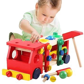 Intelligenz bunte Puzzle Montage Bälle Kind Spiel lustig pädagogisches Spielzeug
