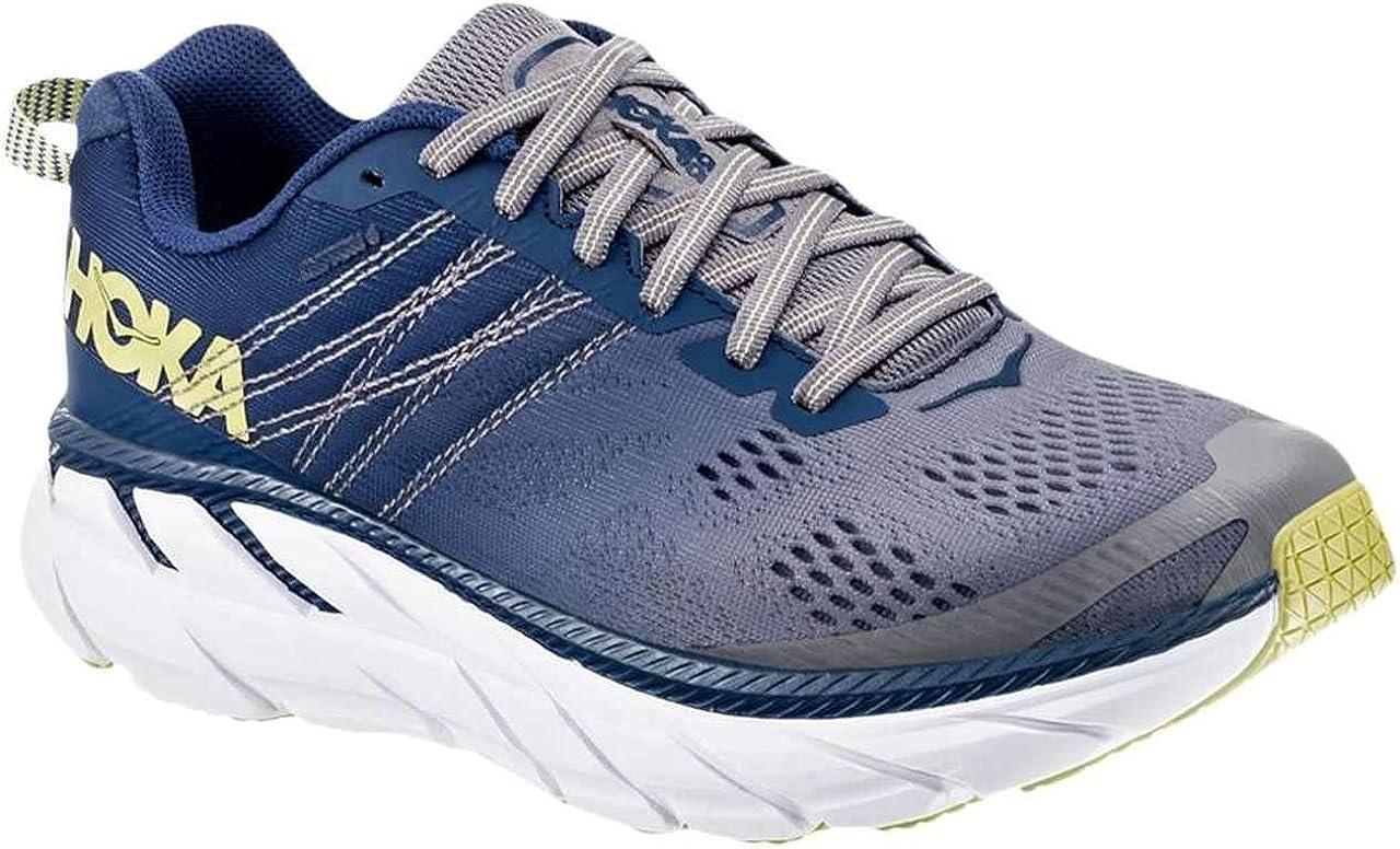 HOKA ONE ONE Womens Clifton 6 Running Shoe Ensign Blue/Wild Dove