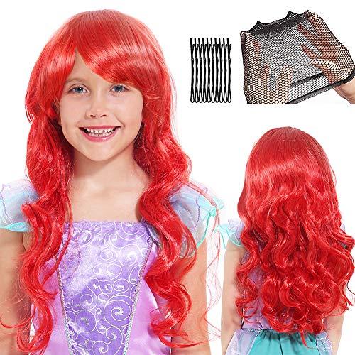 Womens Disney Undersea Ariel Costumes - Dissytoys Mermaid Wig Halloween Party Costume