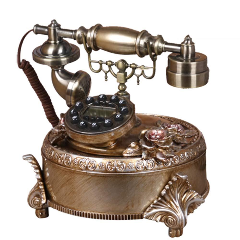 有線電話のリビングルームの寝室固定電話の固定電話の装飾   B07MTXN7YJ
