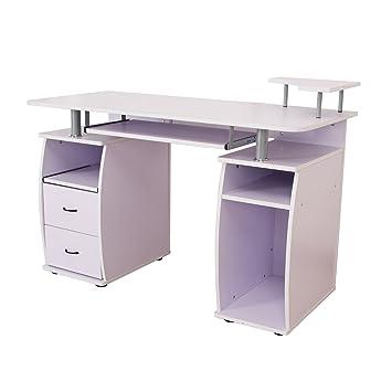 Mesa de ordenador pc oficina despacho escritorio madera ...
