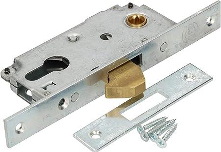 KOTARBAU - Cerradura de gancho para puerta corredera F-30, galvanizada, resistente a la corrosión: Amazon.es: Bricolaje y herramientas