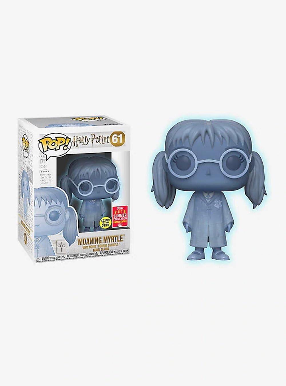 FunKo Harry Potter - Gimiendo mirto translúcido Pop! Vinilo ...