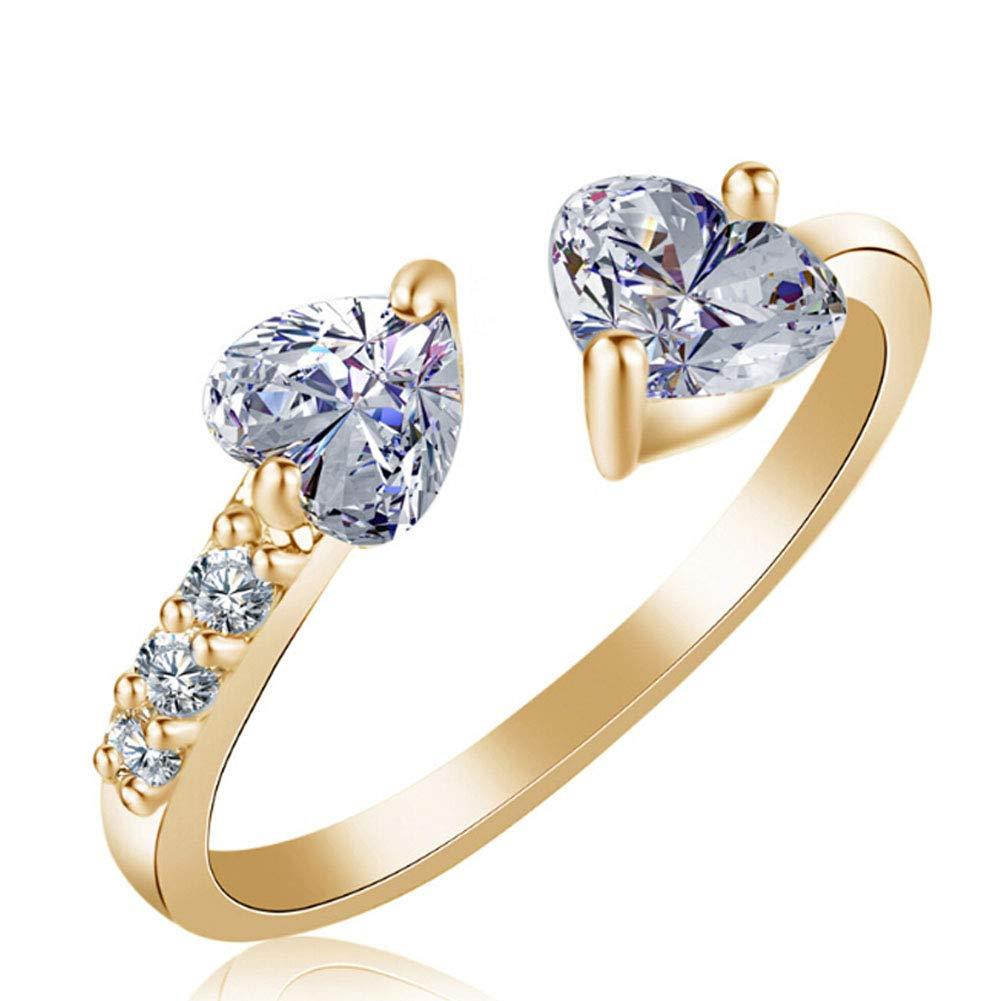 bague diamant artificiel