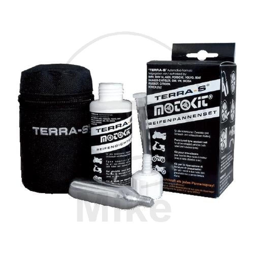 TERRA-S Reifenpannenset - Typ 'Moto-Kit' fü r alle motorisierten Zweirä der