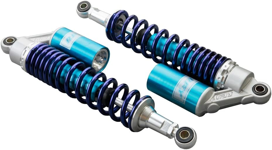 GZYF 400 mm par Pedales amortiguadores de Aire Compatible con TRX 450 Quad Suspensión Trasera de reemplazo