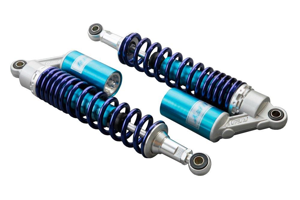 GZYF Luftsto/ßd/ämpfer f/ür Drag Rezzy Blaster TRX250R 450R Hinterradaufh/ängung 340 mm 2 St/ück Blau