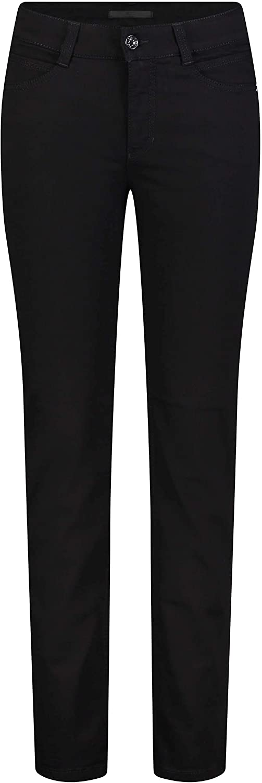 MAC Jeans Damen Hose Slim Angela blau-dunkel Schwarz