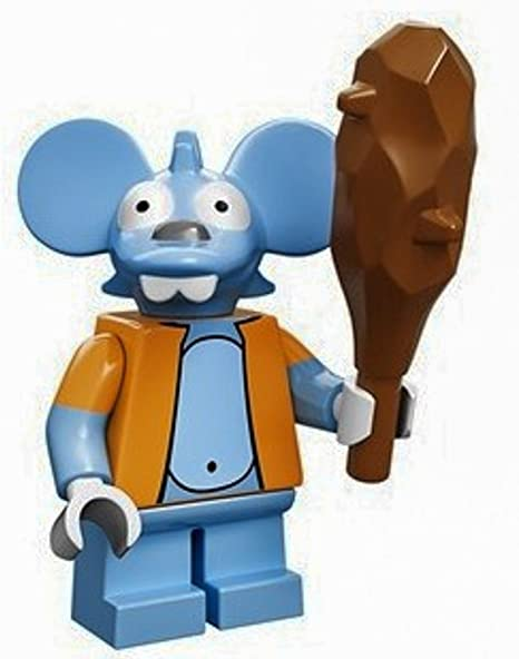 The Simpsons lego minifigure series 1 ITCHY THE MOUSE loose