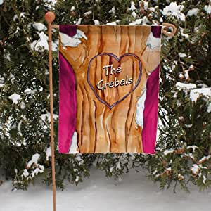 """Personalized Family Tree Double Sided Garden Flag, 12 1/2"""" w x 18"""" h, Polyester"""