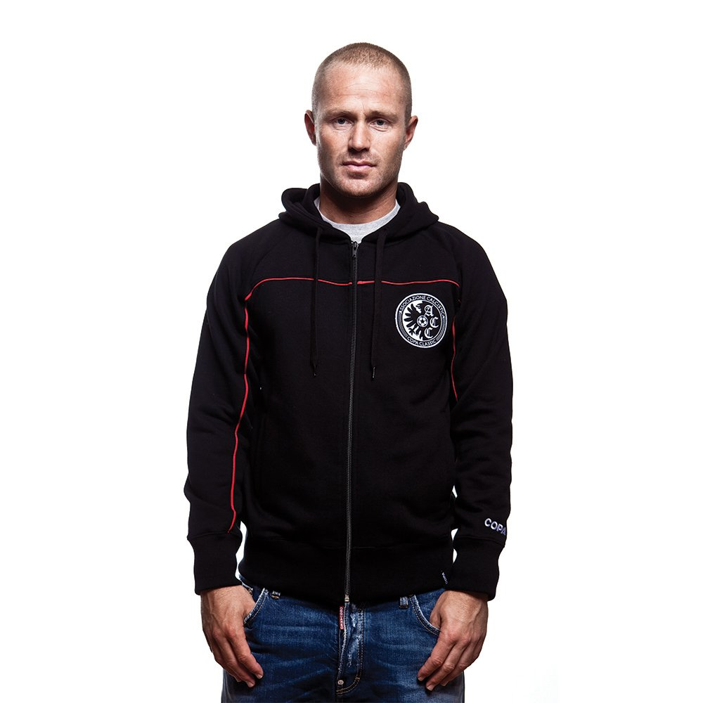 COPA Football - Calcistica Zip Hooded Sweater - Schwarz