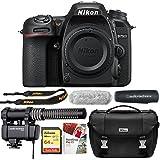 Nikon D7500 20.9MP DX-Format 4K Ultra HD Digital SLR Camera (Body Only) + Reporter Kit