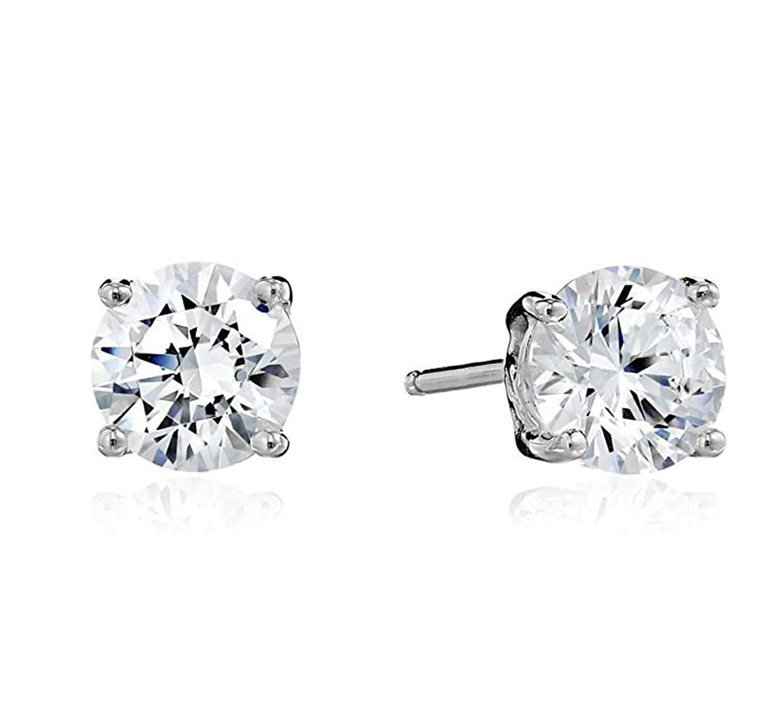 Amazoncom Surgical Stainless Steel Studs Earrings Little Girl