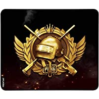 FRENEMY 3 mm Water Resistance Coating Natural Gaming Mouse Pad with Ergonomic Surface and Non Slippary Rubber Base for PC (Multicolour)