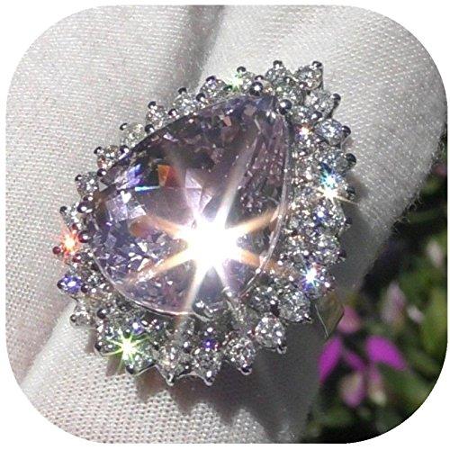 DDLBiz 2018 Clearance! Women Shining Natural Gemstone Birthstone Engagement Wedding Ring (9)
