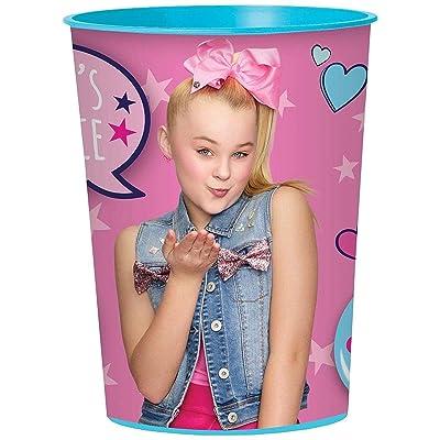 Amscan Jojo Siwa 16 oz Party Stadium Cup (JoJo's Juice): Toys & Games