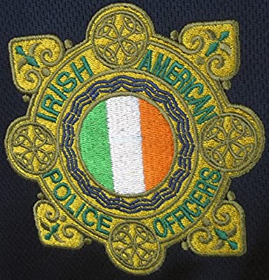 Silky Sullivan Rugby Collection Mens Irish American Police//Garda Rugby Jersey