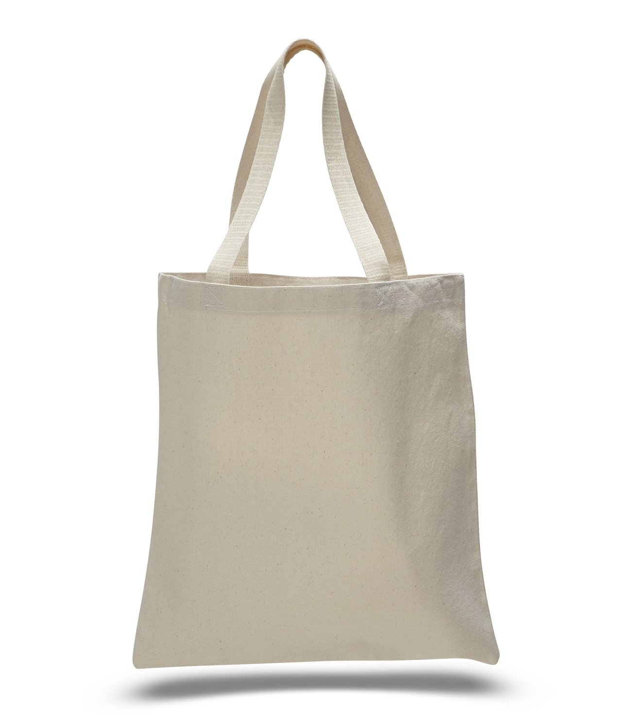 (60 Pack) 5 Dozen - Promotional Canvas Tote Bags by ToteBagFactory by ToteBagFactory