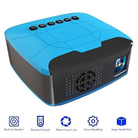 QLPP Proyector de vídeo, 2inch HD LCD Multimedia con 1080P ...