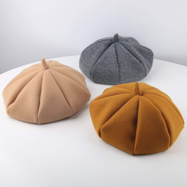 Fashion Baby Girl Hat Wool Autumn Winter Hat for Girls Vintage Kids Beret Cap Infant Accessories 1 Pcs