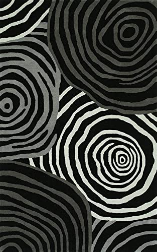 Dalyn Rugs SANTINO SO49 BLACK 8'X10' area rug
