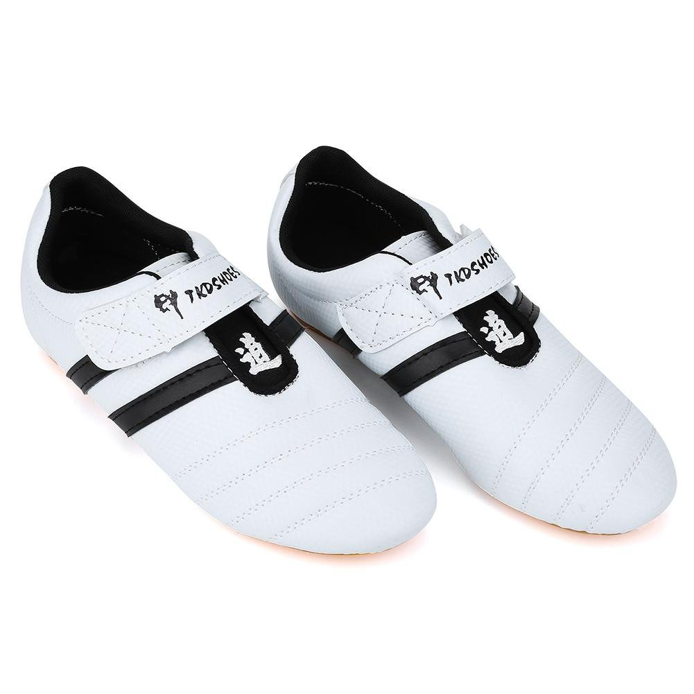 Dioche Chaussures de Taekwondo Arts Martiaux, Respirant Baskets, Sport de Boxe Kung...