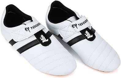 Dioche Taekwondo skor, andningsbara kampsport sneakers, sport boxning kung Fu TaiChi lätta skor för vuxna och barn