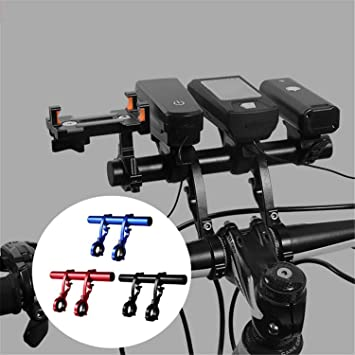 Bicycle Handlebar Multi-function Aluminum Alloy Extension For Mountain//road Bike