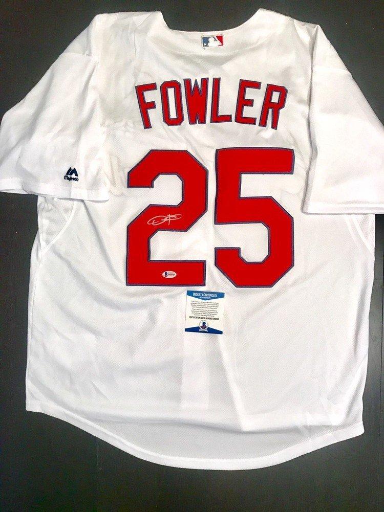 san francisco 1dc10 4a8b3 Dexter Fowler Hand Autographed Signed Autograph St Louis ...