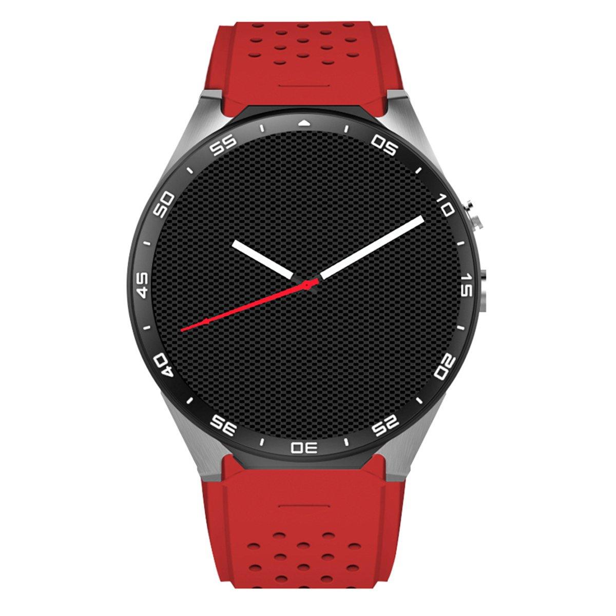 Fashion Android 5.1 Quad-Core 1.39'' Smart Watch 400mAh Li-Polymer Battery, 4GB ROM, Wi-Fi, GPS