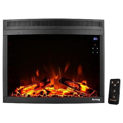 Amazon Com E Flame Usa Edmonton Led Electric Fireplace Stove Insert