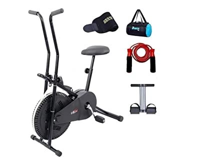 Lifeline Exercise Bike Combo with Gym bag