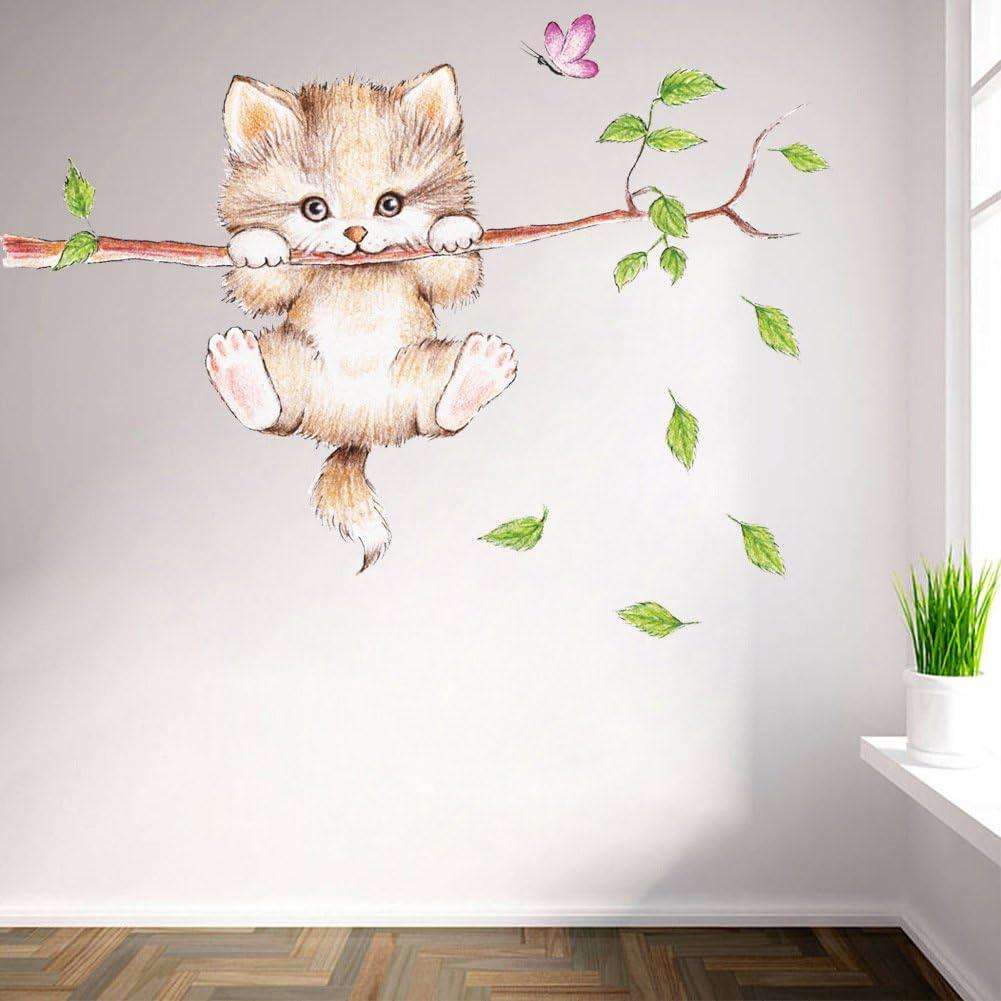 kittens wall decals animals Wall Decals wall decal for Nursery kids wall decal kcik125