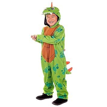Fun Shack Verde Dinosaurio Disfraz para Niños y Niñas - L: Amazon ...