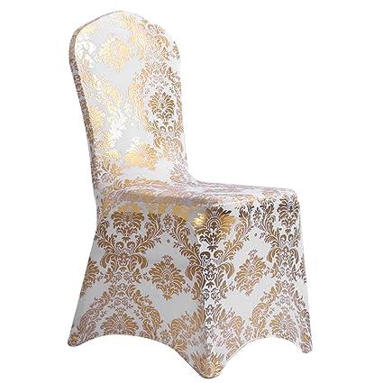 Hete-supply - Funda para silla de boda, funda elástica de ...