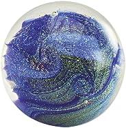 Glass Eye Studio Northern Lights Blown Glass Paperweight