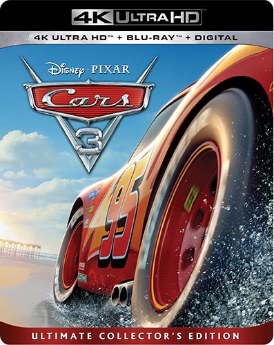 4K Blu-ray : Cars 3 (With Blu-Ray, 4K Mastering, Dolby, AC-3, Digitally Mastered in HD)