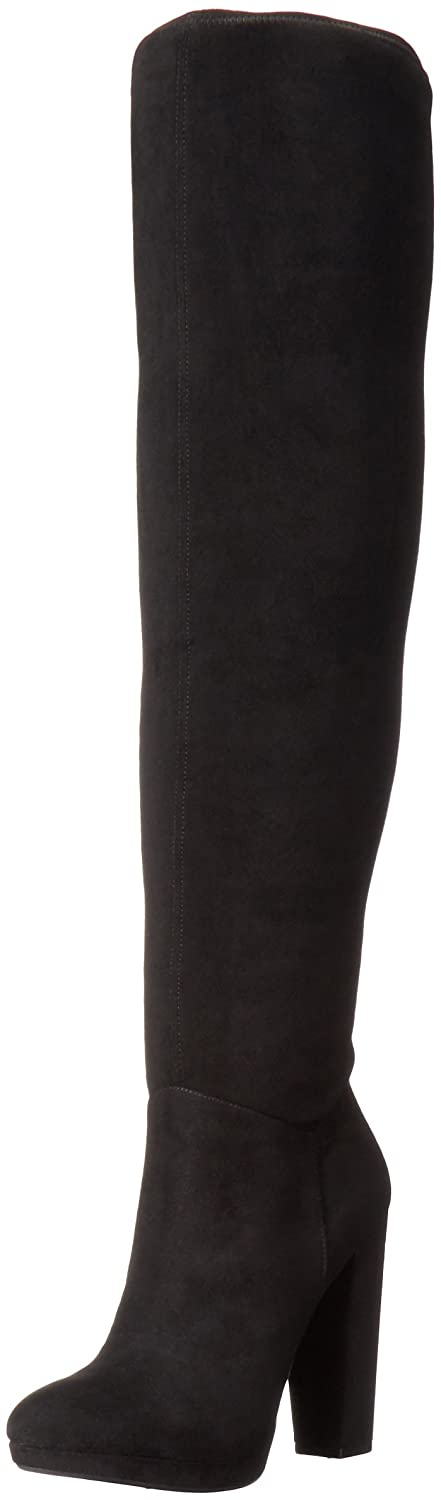 Jessica Simpson Women's Grandie Winter Boot B01EVHXAR2 8.5 B(M) US|Black/Black