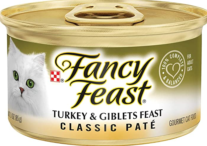 The Best Fancy Feast Turkey Cat Food