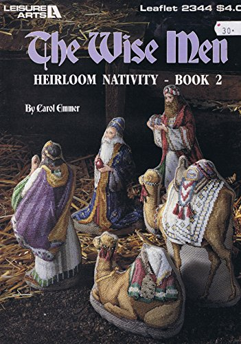 The Wise Men Heirloom Nativity Book 2 Cross Stitch Chart