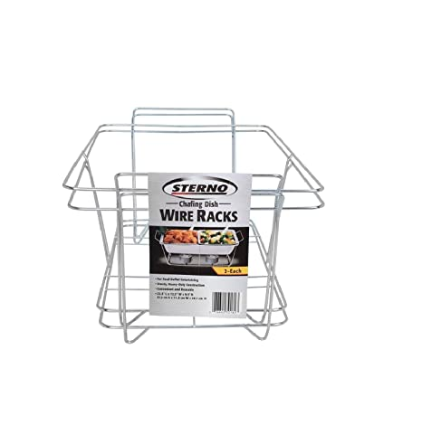 Chafing Dish Rack Magnificent Amazon Sterno Chafing Dish Wire Rack 60 Pk Kitchen Dining