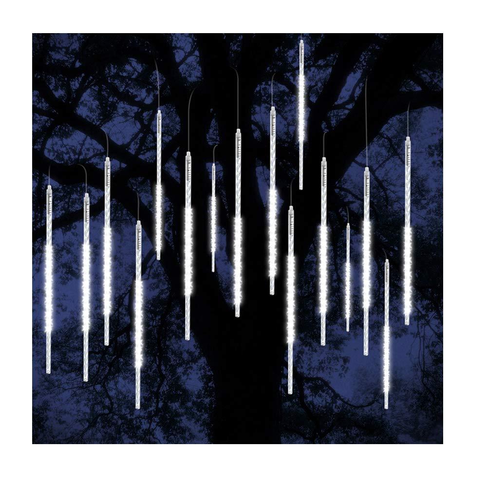 ohCome Meteor Dusche Regen Tropfen Lichter 50cm 10 Spiral Tubes 540 ...