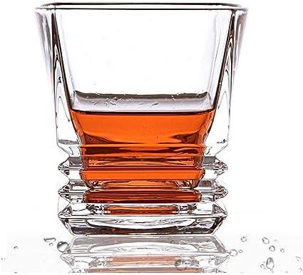 Lcjtaifu Copa de Vino Gafas de Whisky frías Gafas de Whisky ...