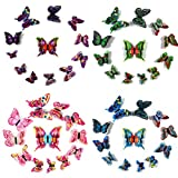 Givovanni 3D Butterfly Art Wal