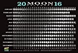 2016 Moon Calendar Card (5-pack)