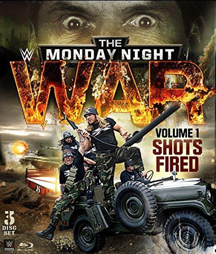 Blu-ray : WWE: Monday Night War Vol. 1 - Shots Fired (Blu-ray)