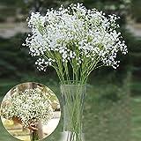 6pcs Artificial Silk Flowers Gypsophila Babys Breath Plants Home Wedding Decor