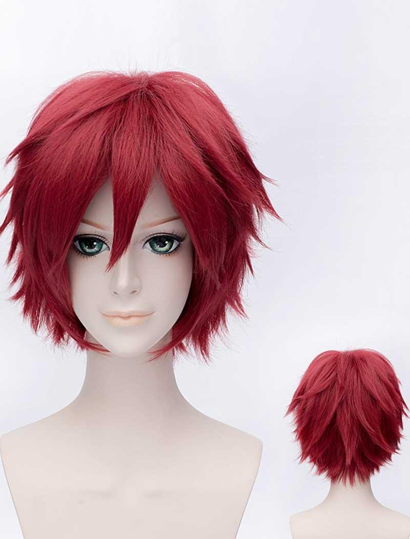 peluca roja anime
