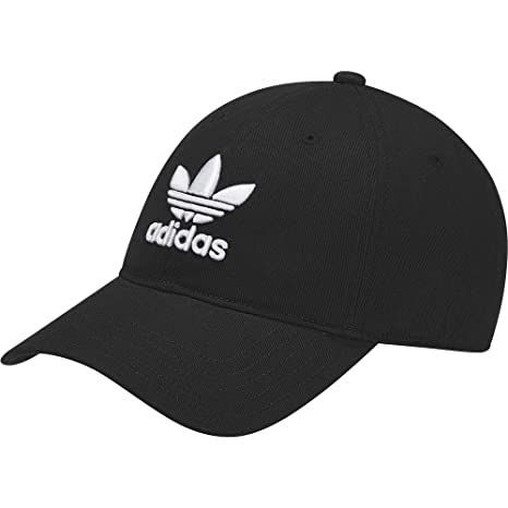 adidas Trefoil Gorra de Tenis, Hombre, Negro, OSFC: Amazon.es ...