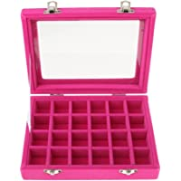 OZ_Mart Jewelry Display Box 24 Slot Art Organizer